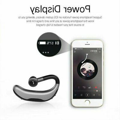 Bluetooth Headset Earpiece Waterproof Earphone Earbuds
