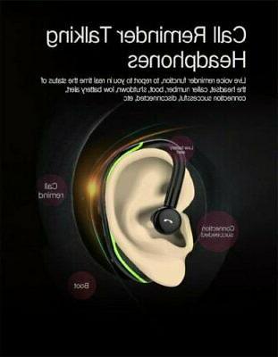 Bluetooth Headset Earpiece Waterproof Earbuds