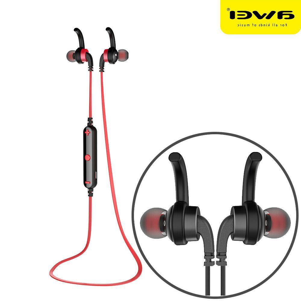 bluetooth headset sweatproof sports wireless stereo earphone