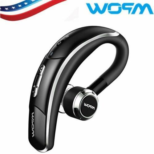 bluetooth headset wireless earbuds headphone microphone