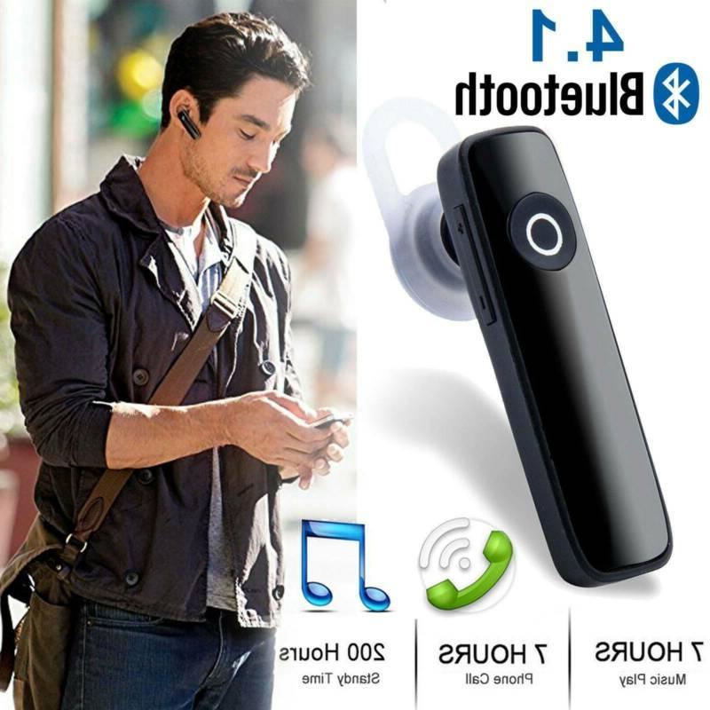 bluetooth headset wireless in ear stereo headphones