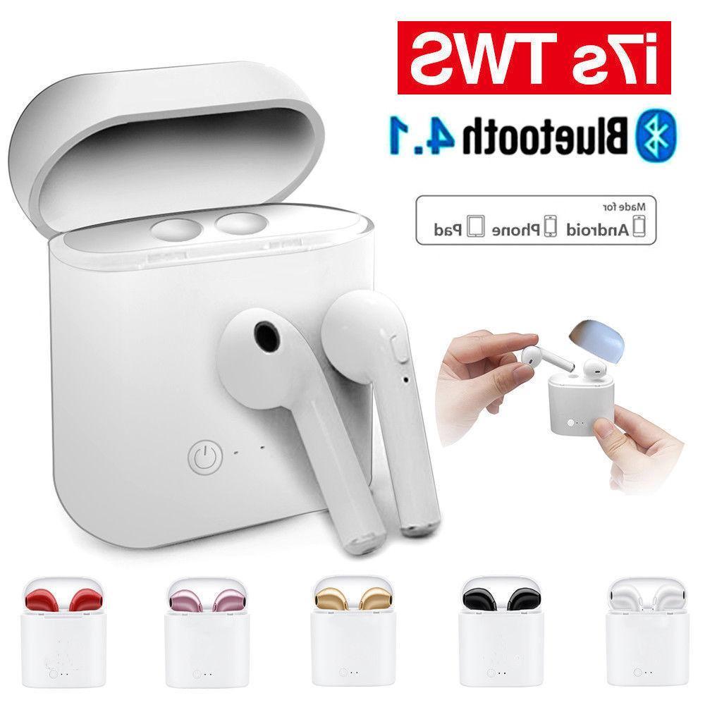 Bluetooth Stereo Headphones Earbuds W/ Mic
