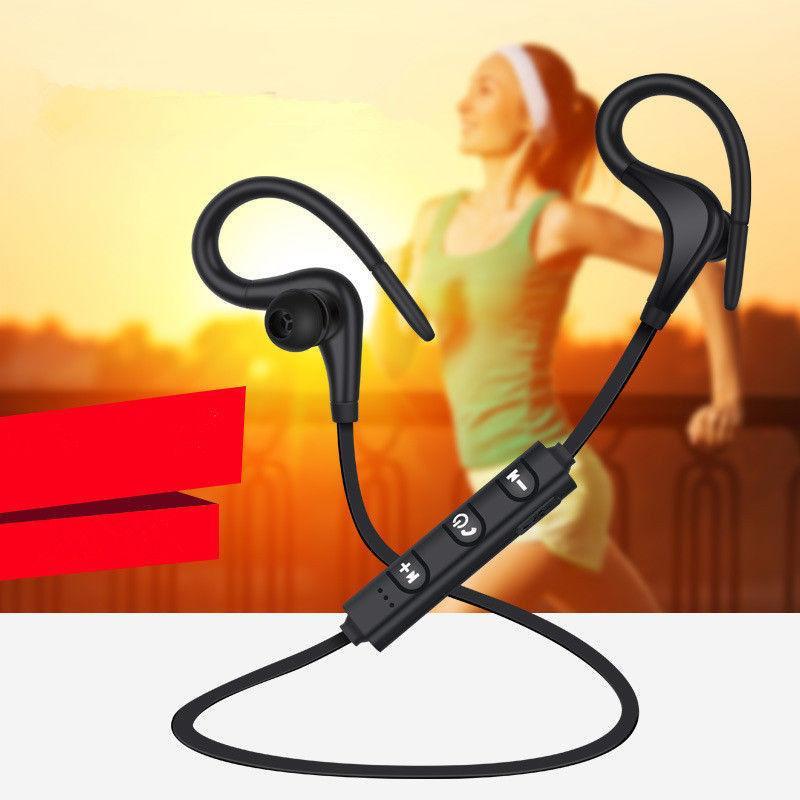 Bluetooth Headset Wireless Headphones Sport Earphone With