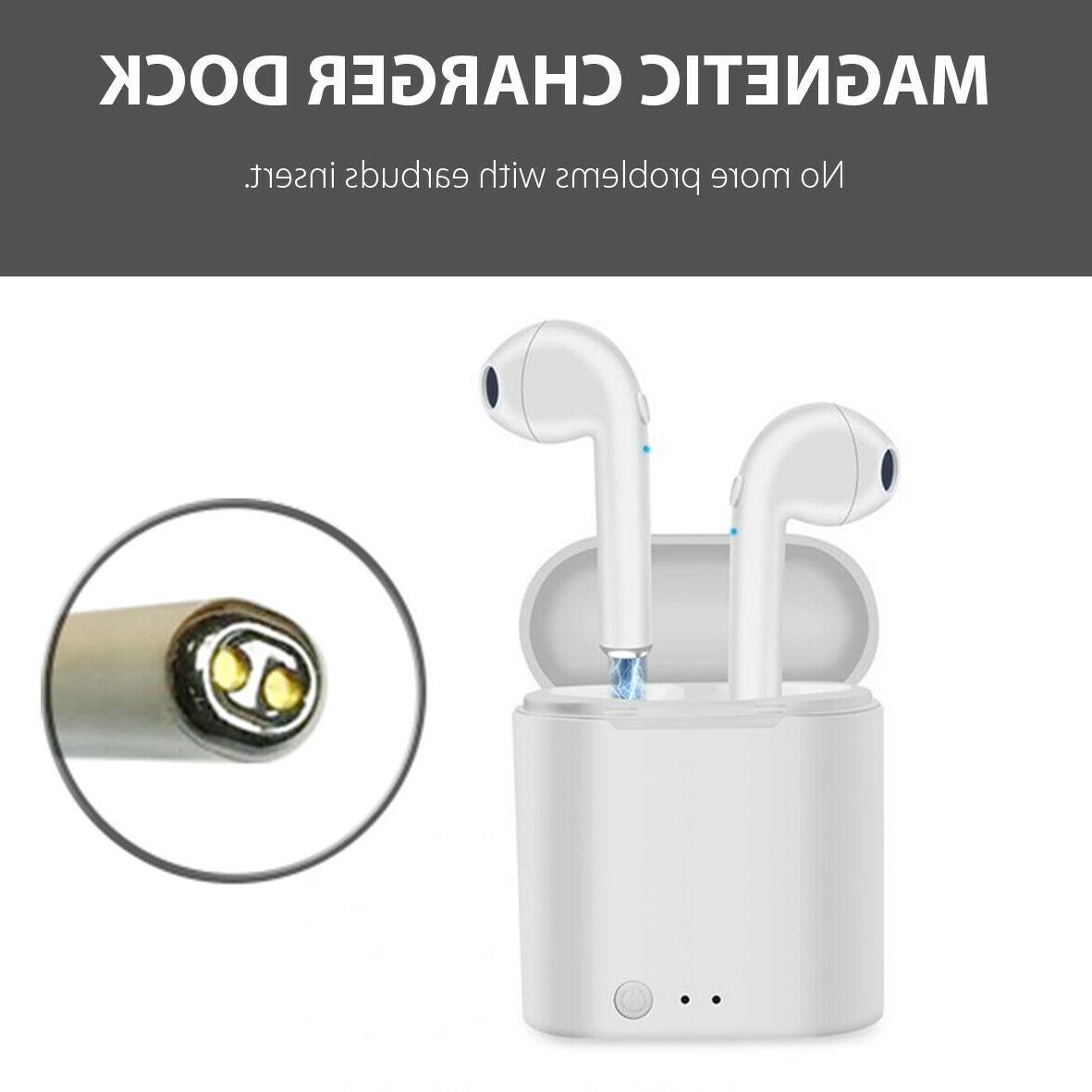bluetooth wireless earbuds headset i7 mini tws