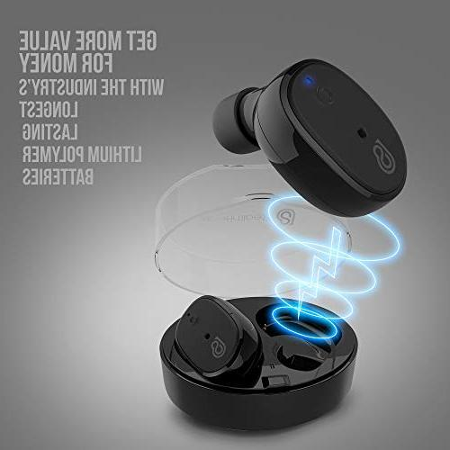 StealthBeats Wireless Headphones with Microphone with Noise BASS Sound for