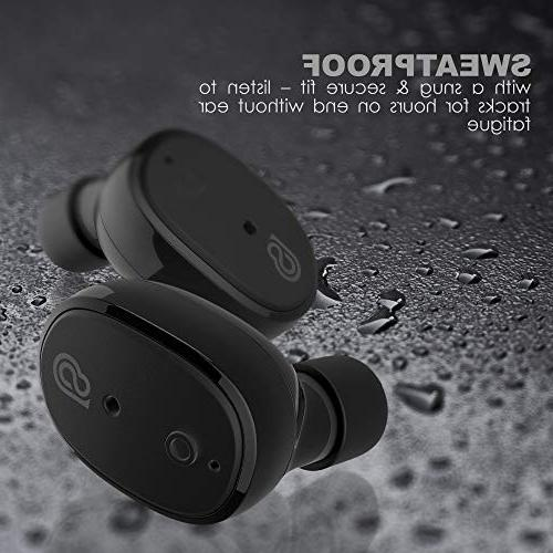 StealthBeats Bluetooth Wireless with Microphone Running with Charger - Noise Mic BASS &