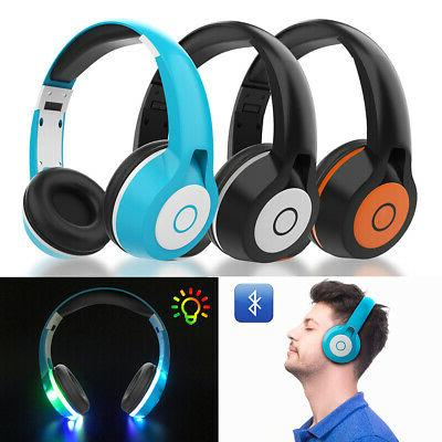 bluetooth wireless headphones earbuds stereo earphone headse