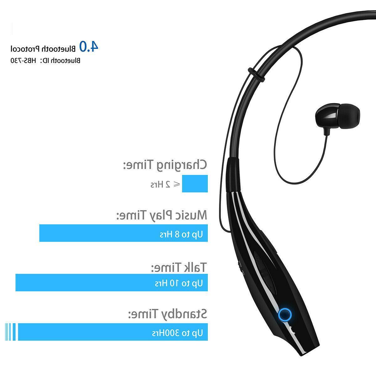 Bluetooth Headphones Earphone Neckband Earbuds