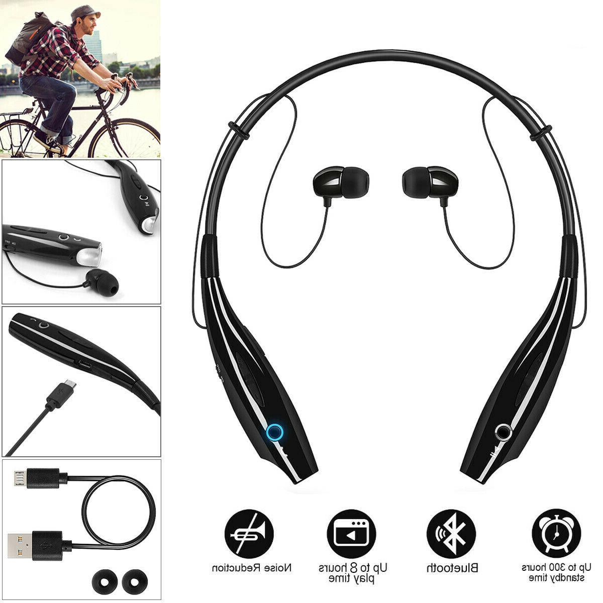 bluetooth wireless headphones headsets earphone neckband ear
