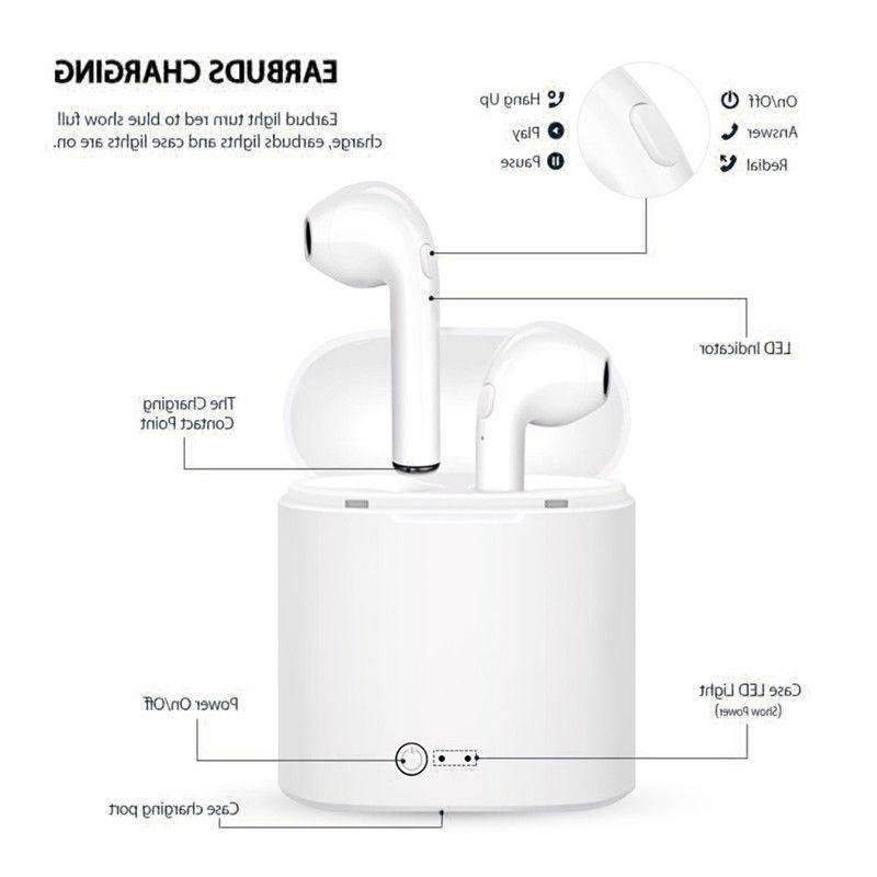 Bluetooth Wireless Headset TWS Ear Box -