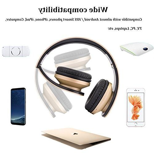 Bluetooth Wireless 1 Upgrade Over Stereo With Earpads MP3