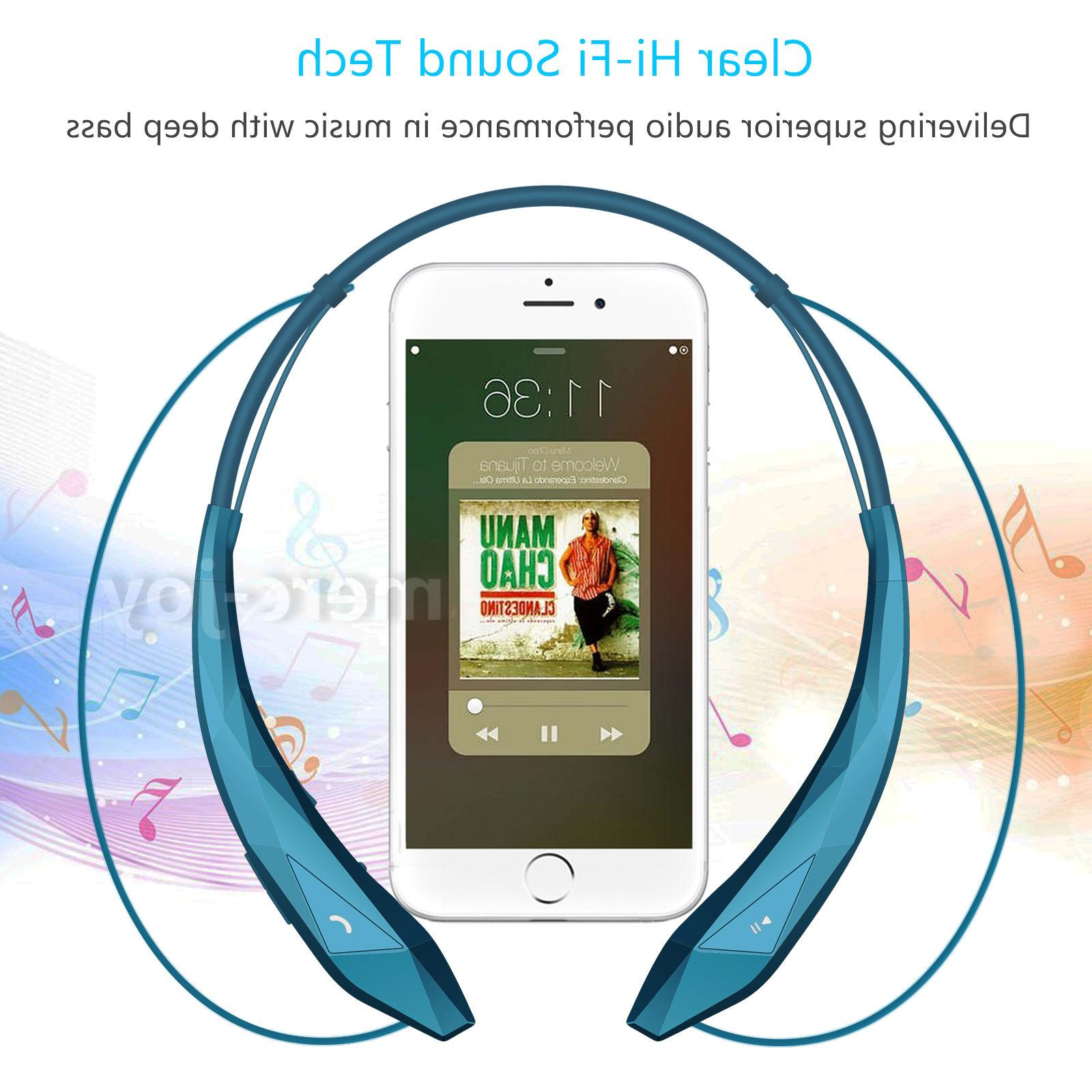 Bluetooth Headset Earbuds Headphones For Universal