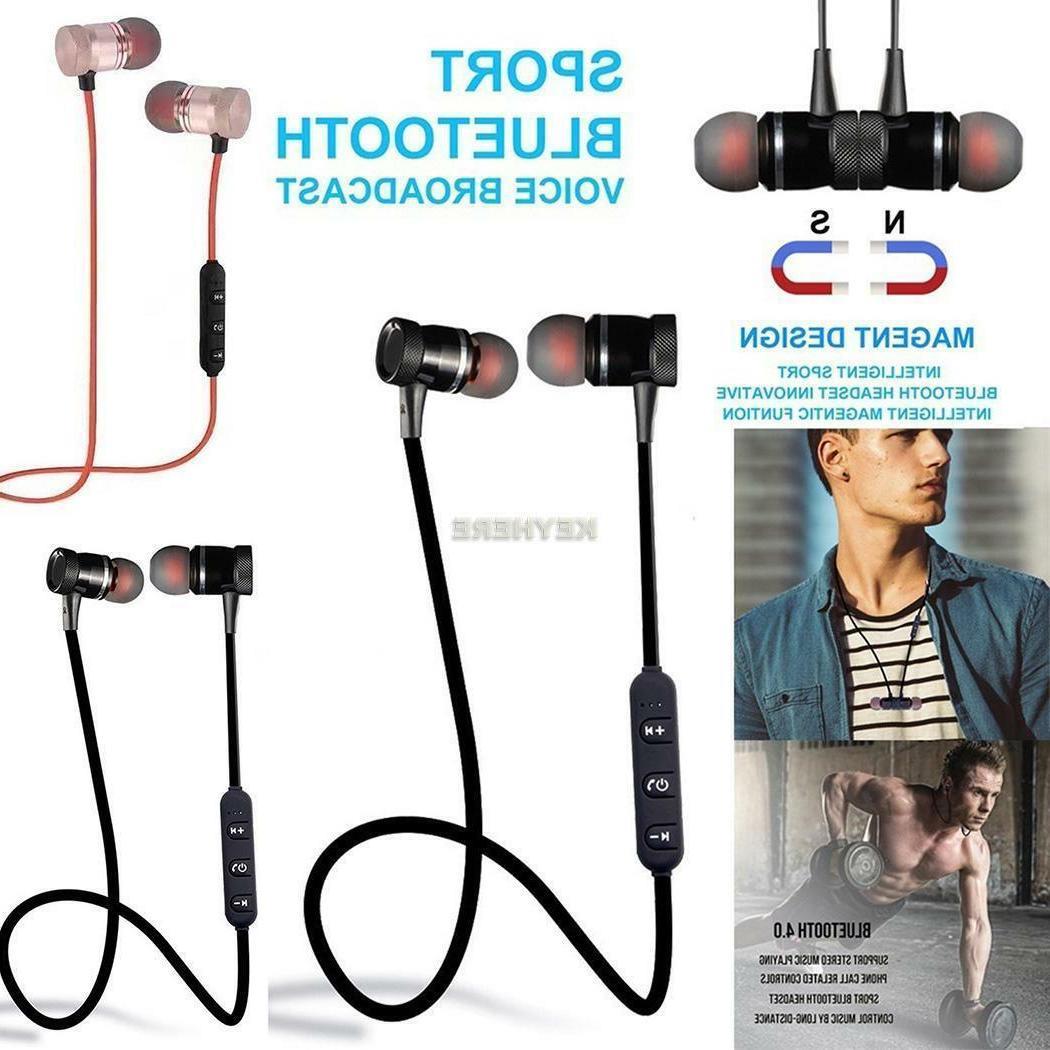 Bluetooth Wireless Twin Earbuds In-Ear Earphones Sport