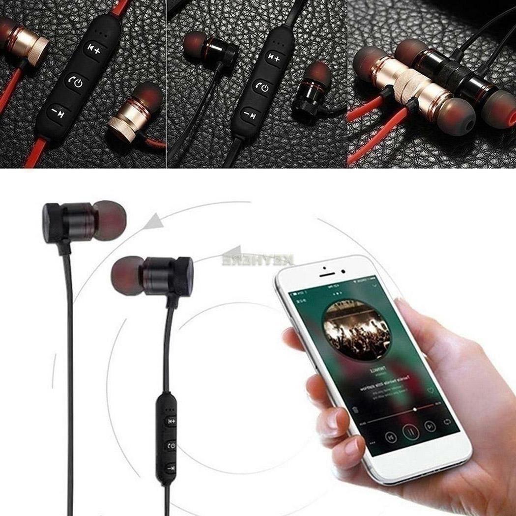 Bluetooth In-Ear Headphones Stereo Sport Headset