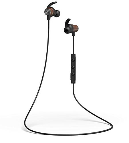 Jaagd BT Wood Exercise Headphones for iPhone X, Samsung Galaxy and More!