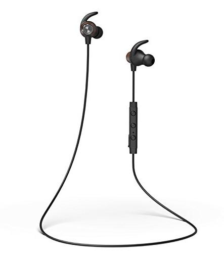 Jaagd BT Wood Hi-Fidelity Sports Exercise for iPhone X, Galaxy and