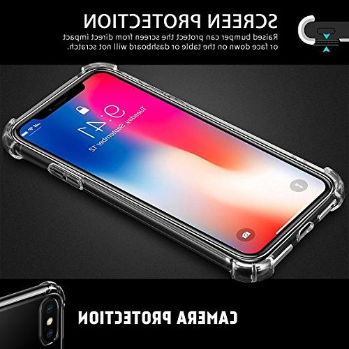 Airror Case for X Cases Ultra Thin Clear TPU, Non-Slip, Clear Cases 1