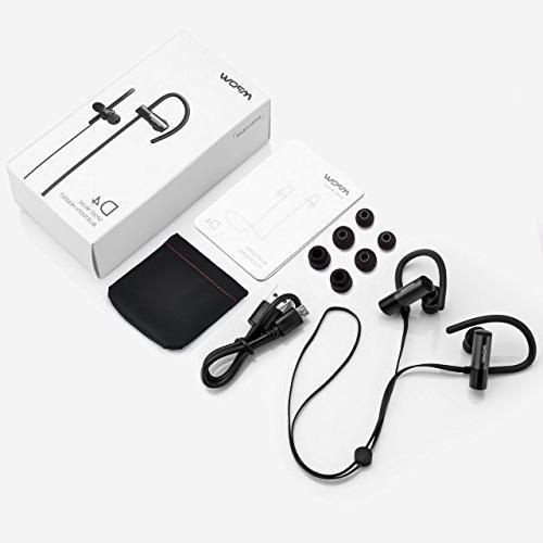 Mpow Headphones, IPX6 Waterproof Wireless Earphones for Running, Jogging, 8 Hour Playtime Cancelling