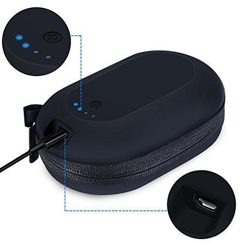 464a3e9fab2 Esimen Double Output Ports Wireless Bluetooth Headphone Charging