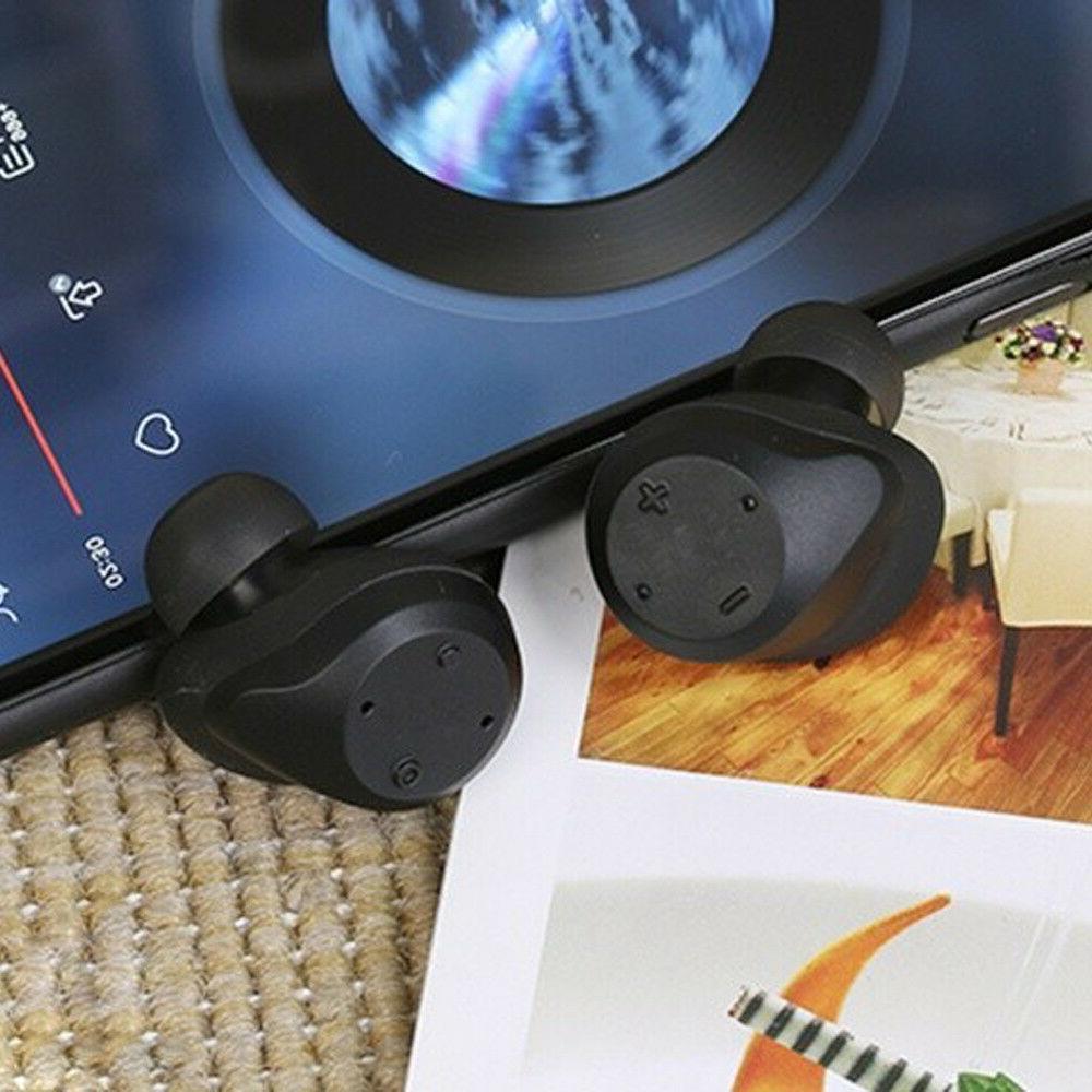 Dual Bluetooth Headsets Earphones Apple X 8 Plus Plus LG