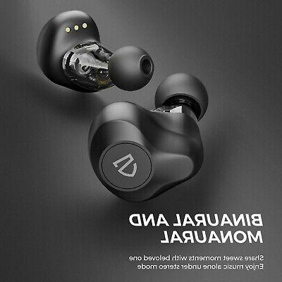 SOUNDPEATS Dual Wireless Earbuds,