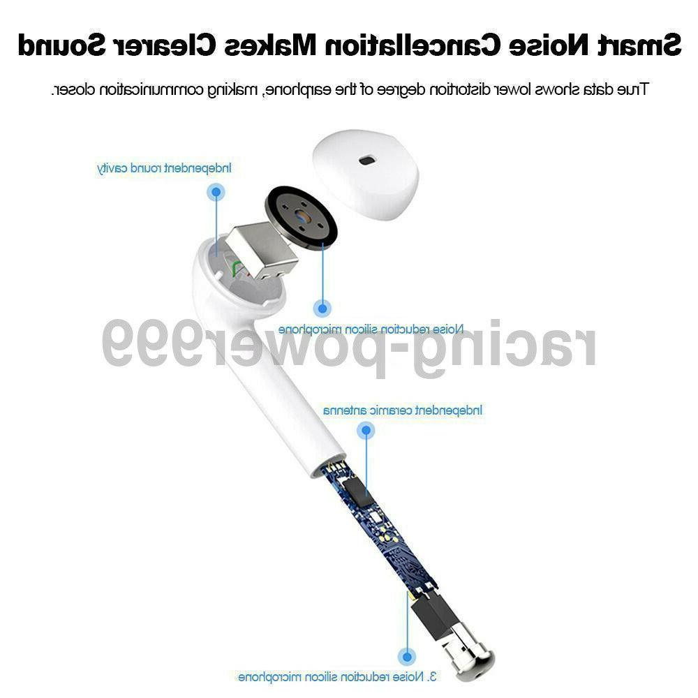 Dual Bluetooth Earbuds Earphone For iPhone