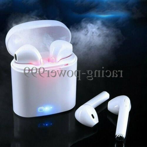 dual wireless bluetooth earbuds earphone for apple