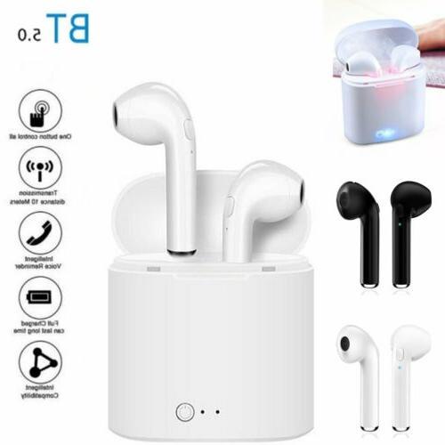 dual wireless bluetooth earphone headphone earbuds