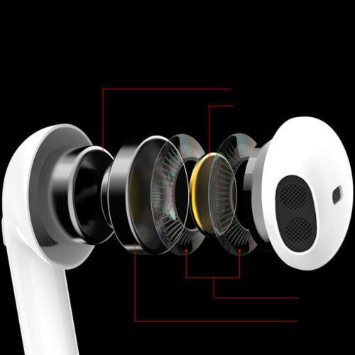 Dual Bluetooth Headphone Earbuds for Samsung Pod