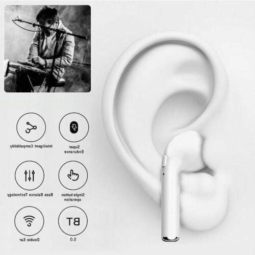 Dual Bluetooth Headphone Earbuds for Samsung Galaxy Pod