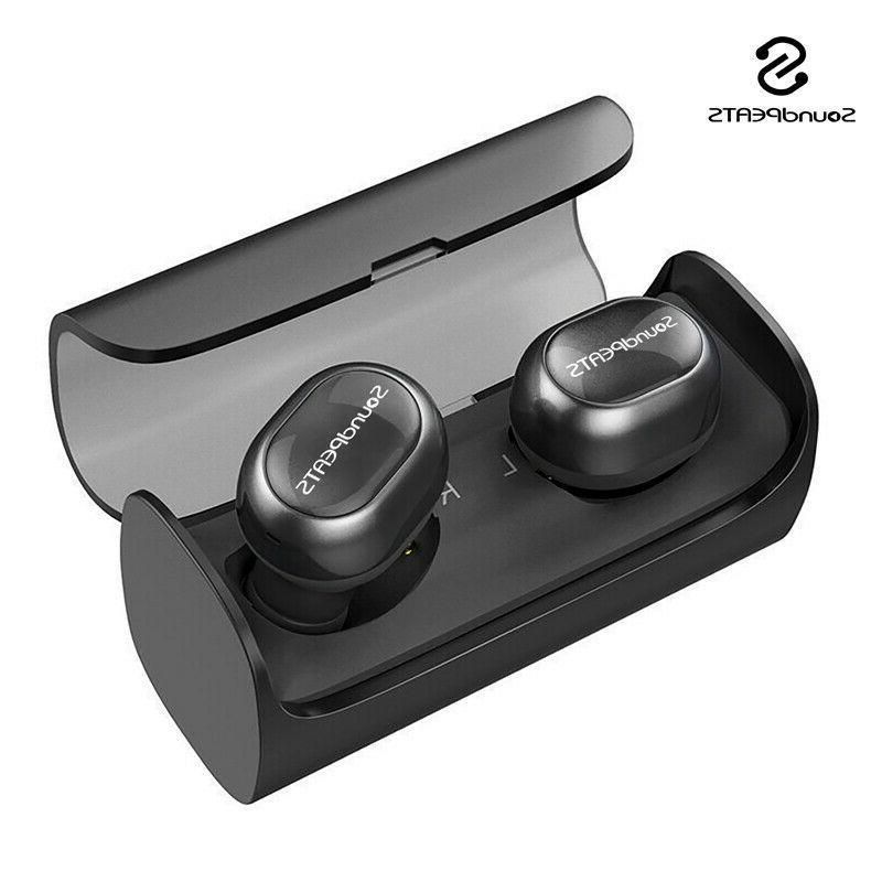 SoundPEATS Dudios Bluetooth Headphones True Wireless HiFi Headset US