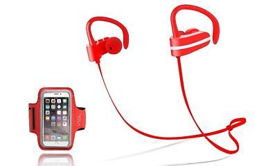 Sport Earbuds, Jarv MACH 1 Wireless Earphones Sweatproof Run