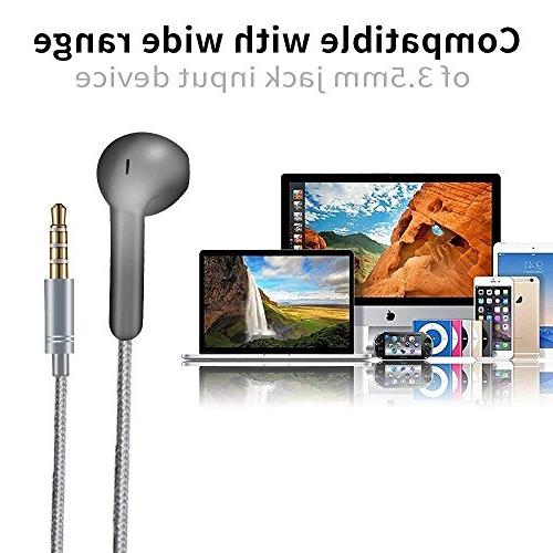 Earbuds, Ankoe Cord Premium mm iPod iPad S7 S8 and Phones