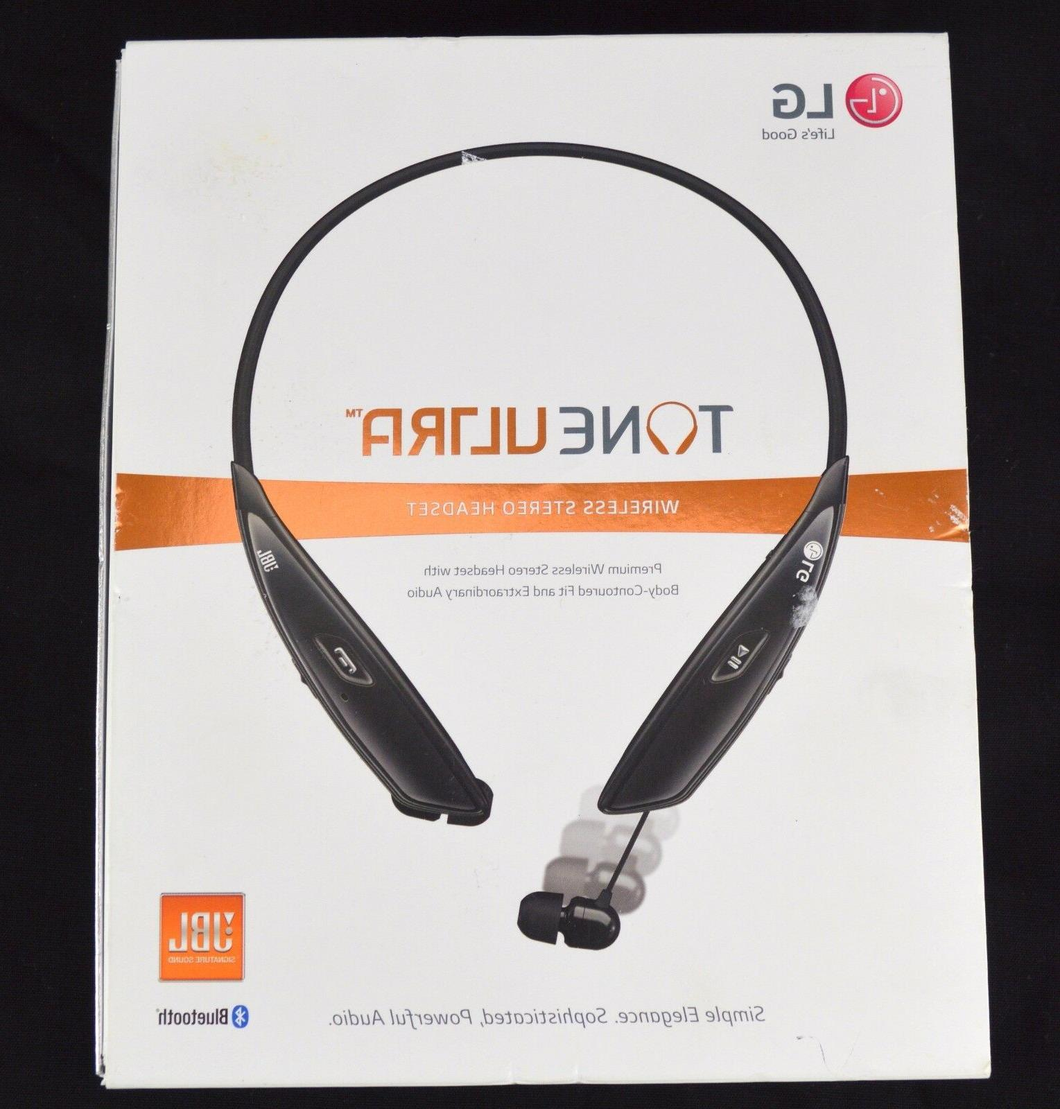 LG Electronics Tone Ultra HBS-810 Bluetooth Wireless Stereo