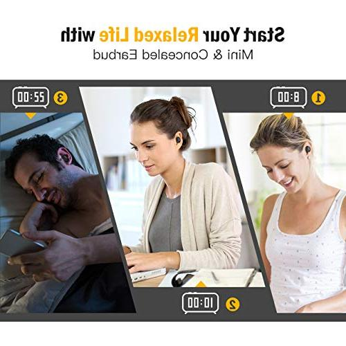Mpow 6-Hrs Mini Bluetooth HD for Cell Single