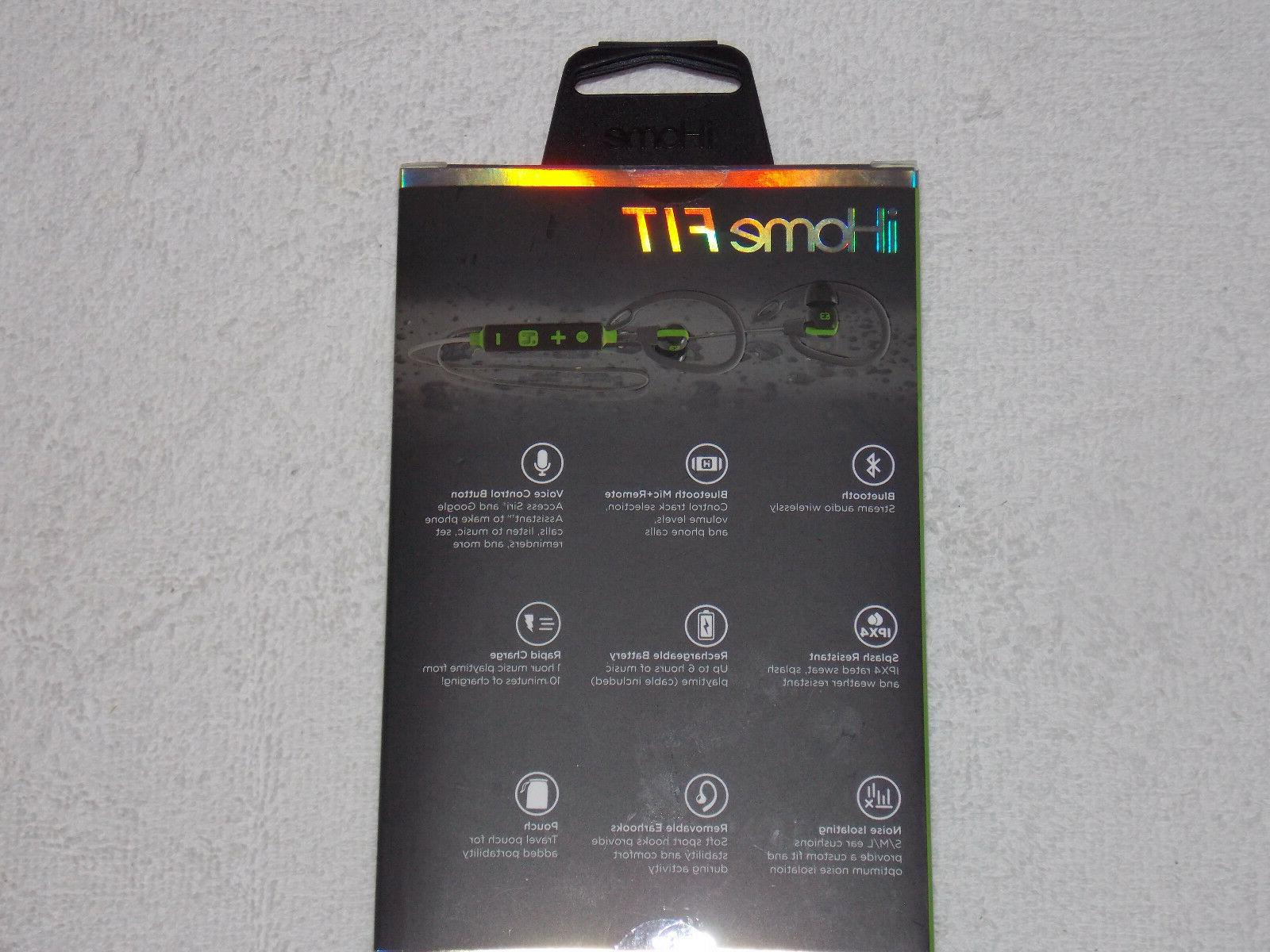 iHOME FIT CONTROL WATER SPORT EARBUDS