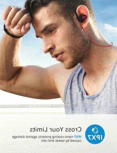 Mpow Flame Bluetooth Headphones Earbuds Richer HiFi Running Headset