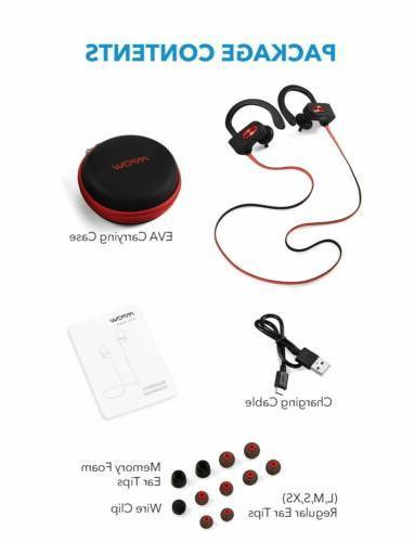 Mpow Bluetooth Headphones Earbuds Sport HiFi Running