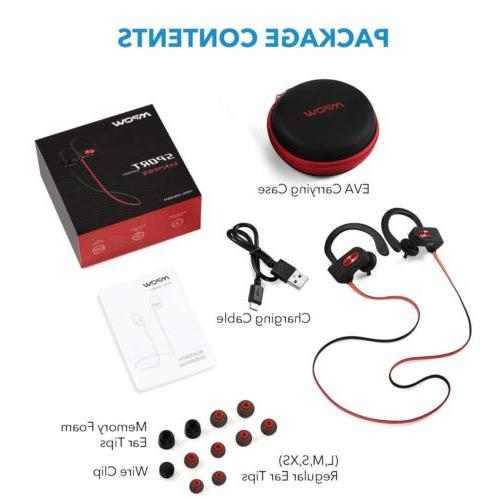 Mpow Bluetooth Earbuds Wireless Headphones Sports HiFi
