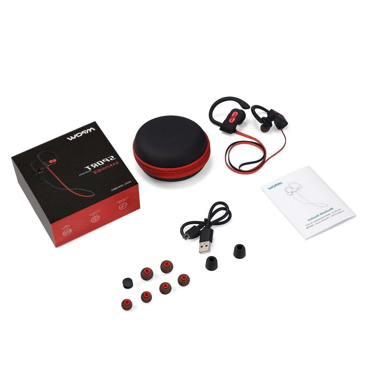 best loved ce61c f0136 Mpow Flame Waterproof Bluetooth Headphones IPX7, Wireless Earbuds
