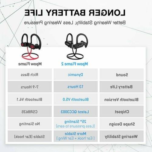 Mpow Bluetooth Earbuds Earphones
