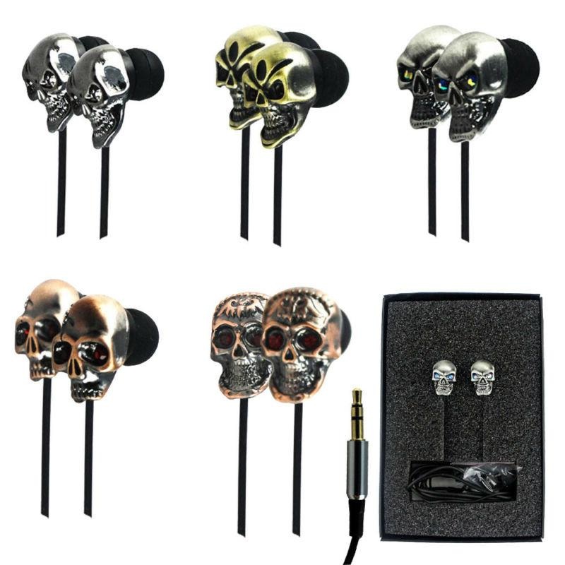 Foldable Over Ear/ In Ear 3.5mm Wired Headphones Earbuds Headset US