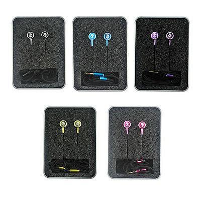 Foldable In Ear 3.5mm Headphones Earphone Earbuds
