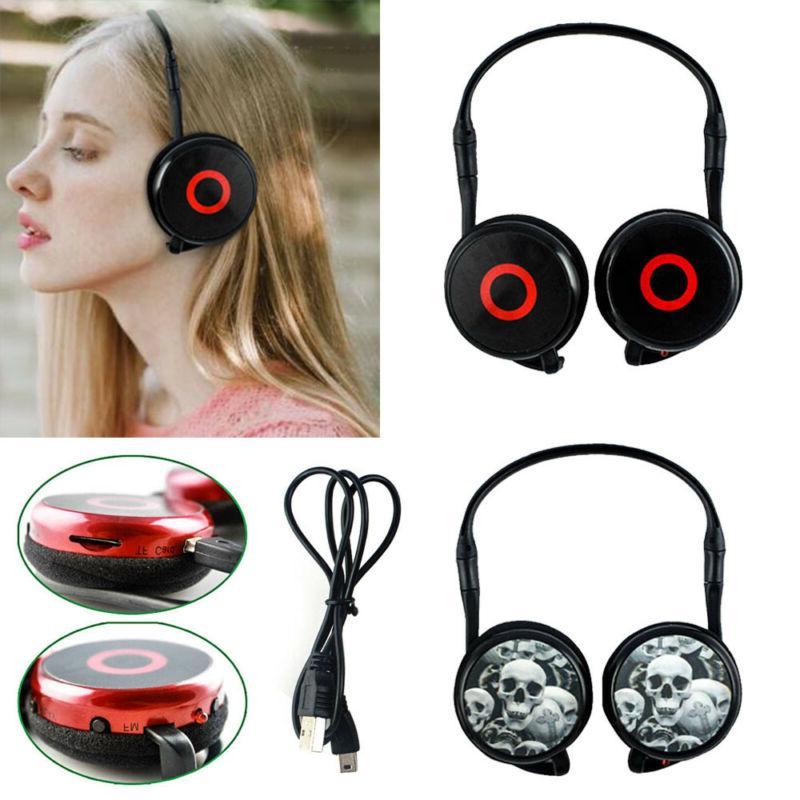Foldable the Ear/ In Headphones Earphone Earbuds US
