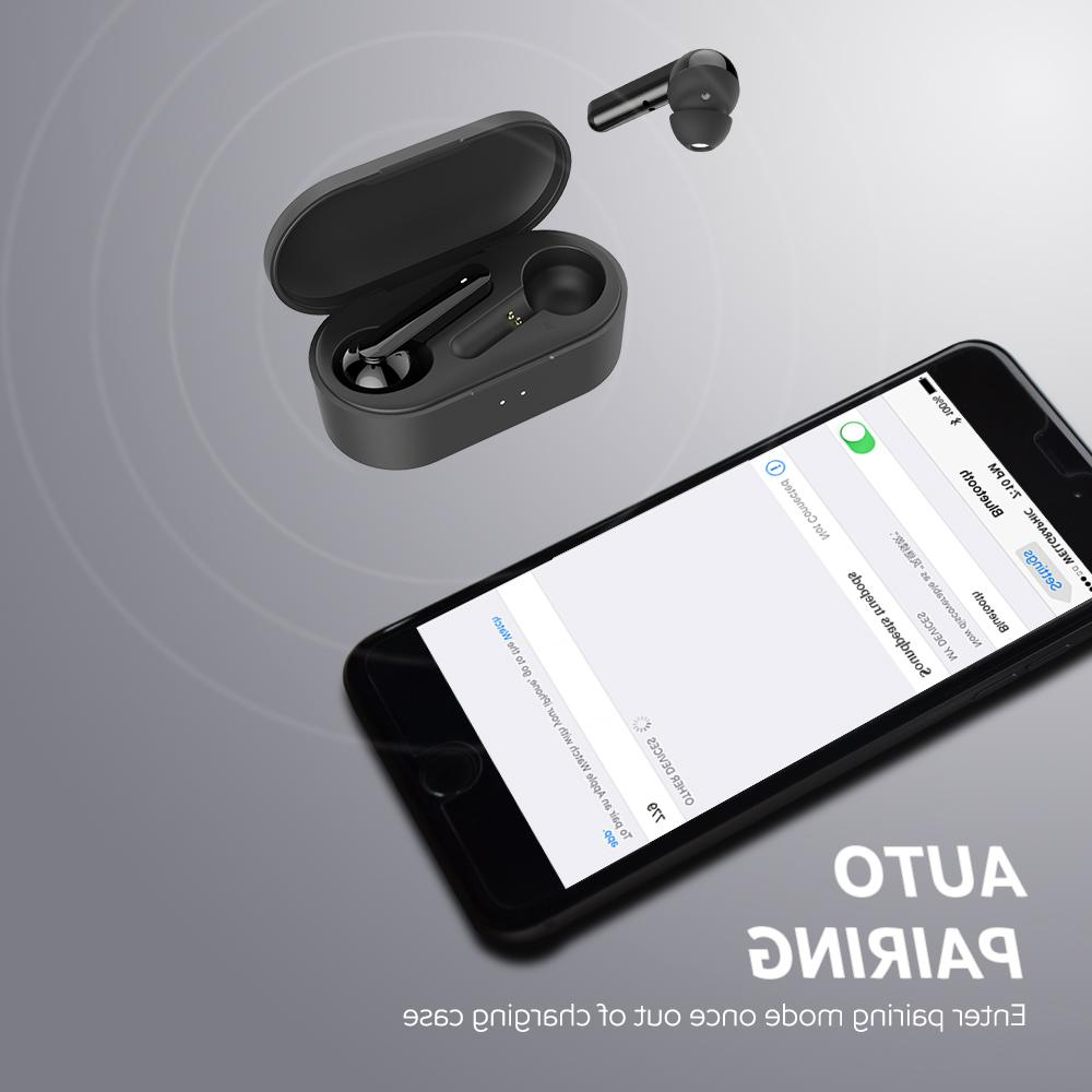 <font><b>SoundPEATS</b></font> Bluetooh <font><b>True</b></font> <font><b>Wireless</b></font> Truepods TWS High Definition Auto-Pair Earphones