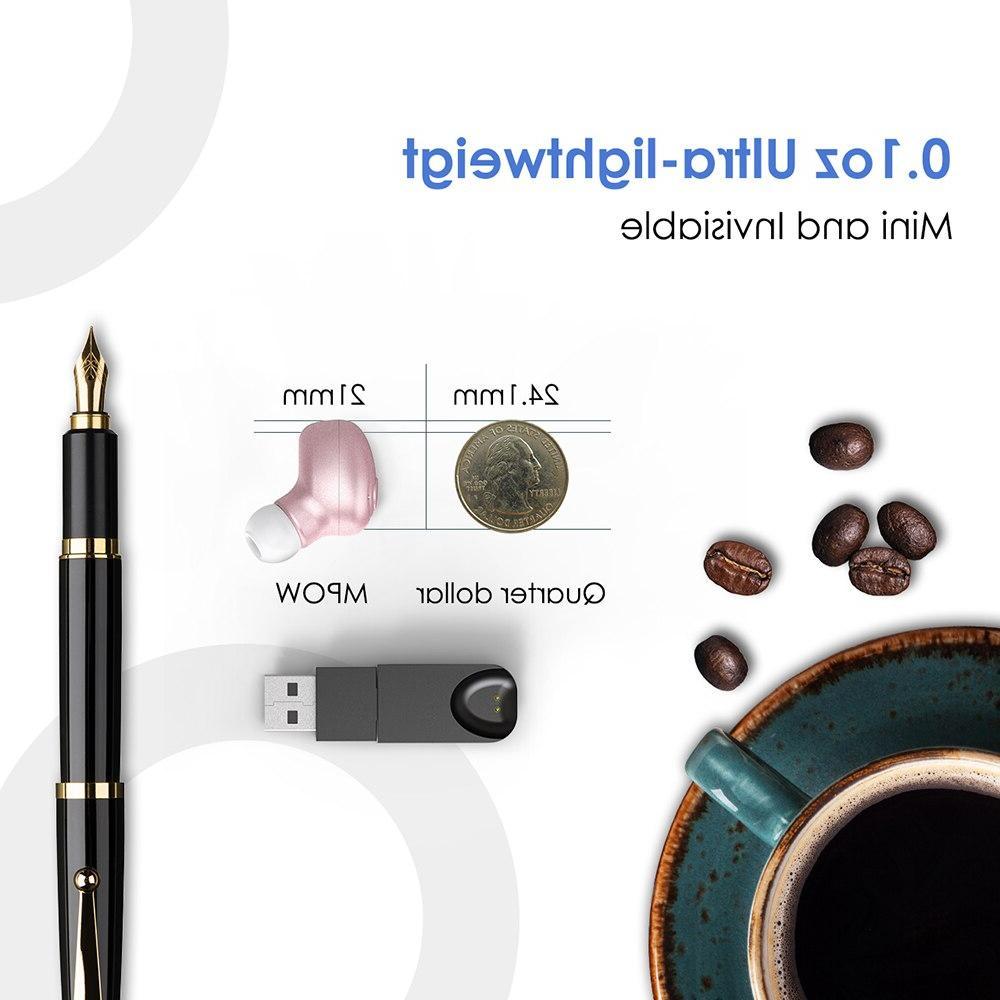 <font><b>Mpow</b></font> EM1 Earphone <font><b>Wireless</b></font> Earpiece In-ear With Mic Earphone