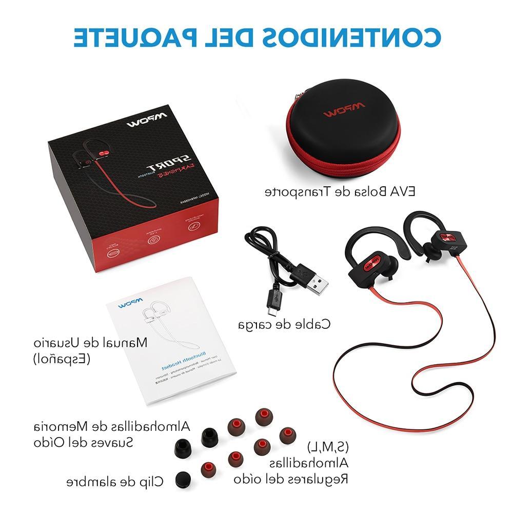 <font><b>Mpow</b></font> Flame <font><b>Bluetooth</b></font> 4.1 Headphones Cancelling Wireless <font><b>Earbuds</b></font> Mic