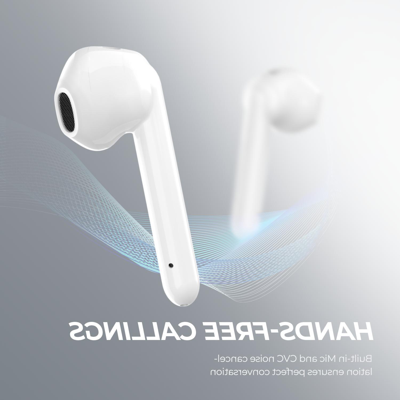 <font><b>SoundPEATS</b></font> <font><b>Bluetooth</b></font> <font><b>Earbuds</b></font> Wireless 30Hrs Playtime Cancellation