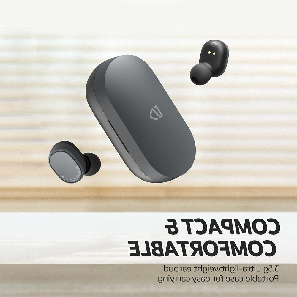 SoundPEATS Wireless Earbuds Sensitive Touch TWS