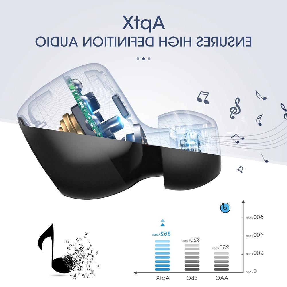 <font><b>Mpow</b></font> T5/M5 TWS 5.0 Earphone <font><b>Wireless</b></font> Handsfree <font><b>Earbuds</b></font> IPX7 Waterproof